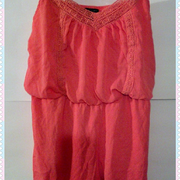 City Triangles Dresses & Skirts - Romper Ladies XL City Triangles, Coral Color